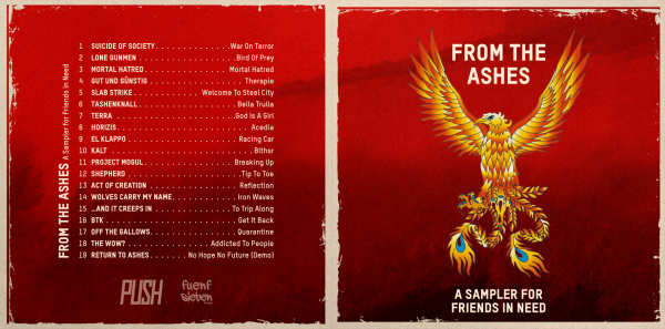 """""""FROM THE ASHES"""" - CD"""